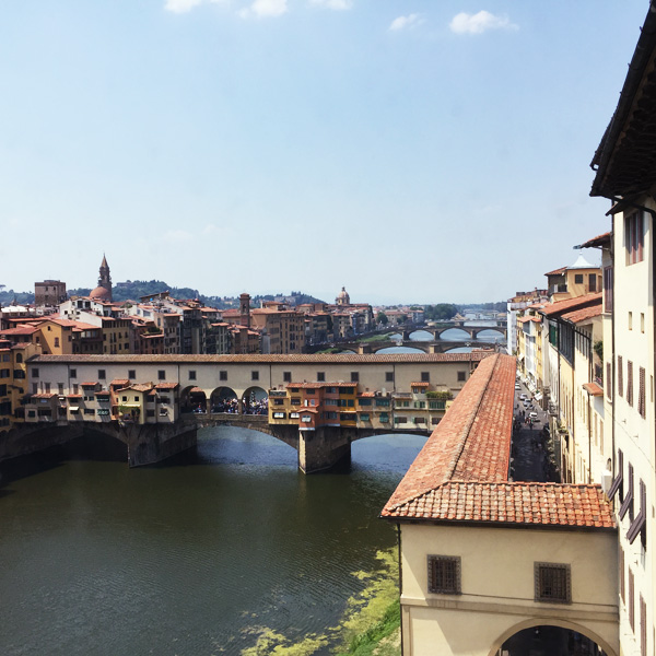 Bridges on the Arno river